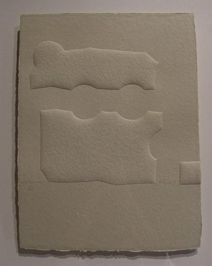 "NO DISPONIBLE. ""Parménides"". Relieve / papel