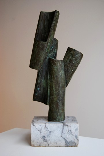 """Arri Biur"". Bronze 57 x 25 x 15 cm. Signed 1980 Edition 1/8"